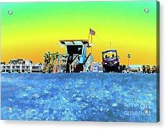 Lifeguard Tower 1 Acrylic Print