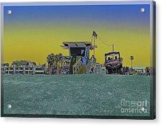Lifeguard Tower 4 Acrylic Print