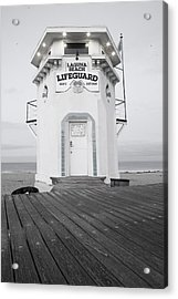 Lifeguard Tower Acrylic Print