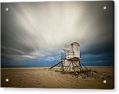 Lifeguard Tower Takeoff Acrylic Print