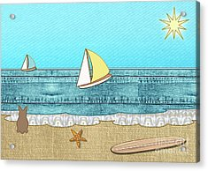 Life's A Beach Acrylic Print