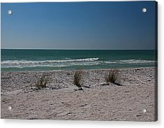 Life's A Beach Acrylic Print by Michiale Schneider