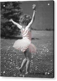 Life's A Dance Acrylic Print by Cindy Singleton