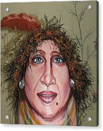 Life's A Drag Acrylic Print by Cathi Doherty
