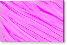 Light And Dark Pink Swirl Acrylic Print