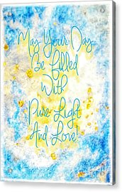 Light And Love Acrylic Print
