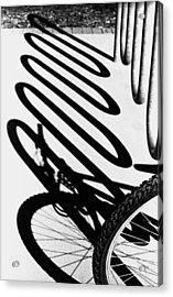 Acrylic Print featuring the photograph Light And Shadows by Wanda Brandon