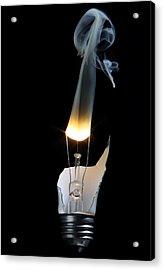 Light And Smoke Acrylic Print