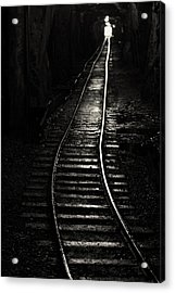 Light At The End Of The Tunnel Acrylic Print by Naman Imagery