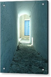 Light At The End Of The Tunnel Acrylic Print by Jennifer Kelly