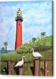 Light Beacon Acrylic Print