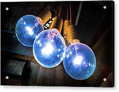 Light Bulbs Acrylic Print