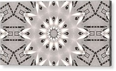 Light Courier Acrylic Print by Ricky Jarnagin