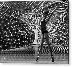 Acrylic Print featuring the photograph Light Dance by Alan Raasch