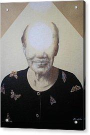 Light Face Acrylic Print by Jimmy  Ovadia