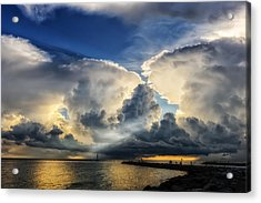 Light From Above Acrylic Print by Frank J Benz