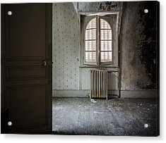 Light From Another Room - Urban Exploration Acrylic Print by Dirk Ercken