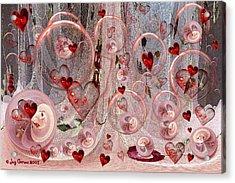 Light Hearted Acrylic Print by Joy Gerow