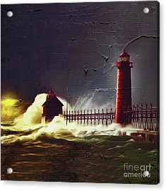 Light House 07 Acrylic Print by Gull G