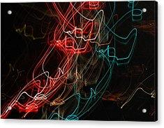 Light In Motion Acrylic Print by David Lane