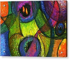 Light In The Darkness Acrylic Print by Cassandra Donnelly