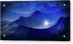 Light In The Mountains Acrylic Print