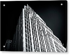 Acrylic Print featuring the photograph Light In The Naked City by John Rizzuto