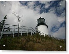 Light In The Sky Acrylic Print by Dennis Curry