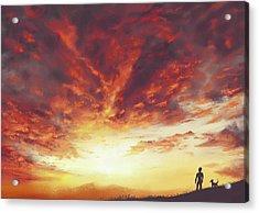 Light Acrylic Print