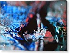 Light Metal 12 Acrylic Print by Chris Rodenberg