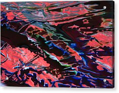 Light Metal 6 Acrylic Print by Chris Rodenberg