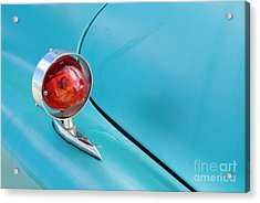 Light Of A Classic American Car Acrylic Print by Sami Sarkis