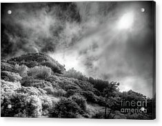 Acrylic Print featuring the photograph Light Of Hope On Craggy Dome by Dan Carmichael