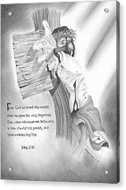 Light Of Salvation Acrylic Print by Christopher Brooks