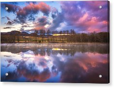 Light Of The Lake Acrylic Print by Darren  White