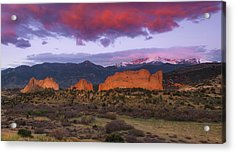 Acrylic Print featuring the photograph Light Of The Sun by Tim Reaves