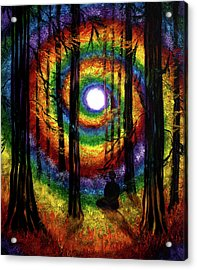 Light Of Tolerance Acrylic Print by Laura Iverson