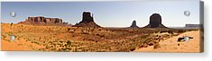 Light On Monument Valley  Acrylic Print
