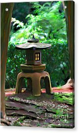 Light-on Pagoda Acrylic Print