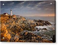 Light On Portland Head Acrylic Print