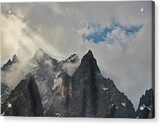 Light On The French Alps Acrylic Print