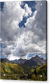 Light On The Hills Acrylic Print