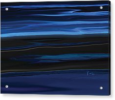 Light On The Horizon Acrylic Print