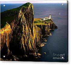 Light On The Rock Acrylic Print