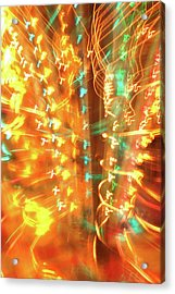 Light Painting 1 Acrylic Print