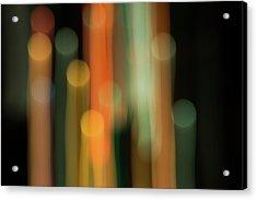 Light Painting No. 1 Acrylic Print