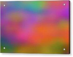Light Painting No. 7 Acrylic Print
