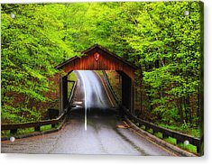 Light Rain On Pierce Stocking Drive 2 Acrylic Print