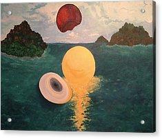 Light Revealed  Acrylic Print by Nancy Brockett