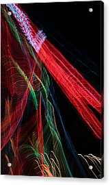 Light Ribbons Acrylic Print